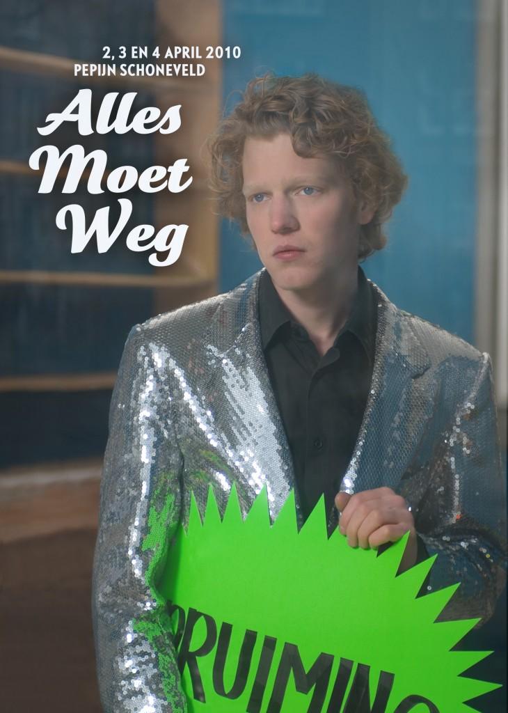 Poster Alles Moet Weg!