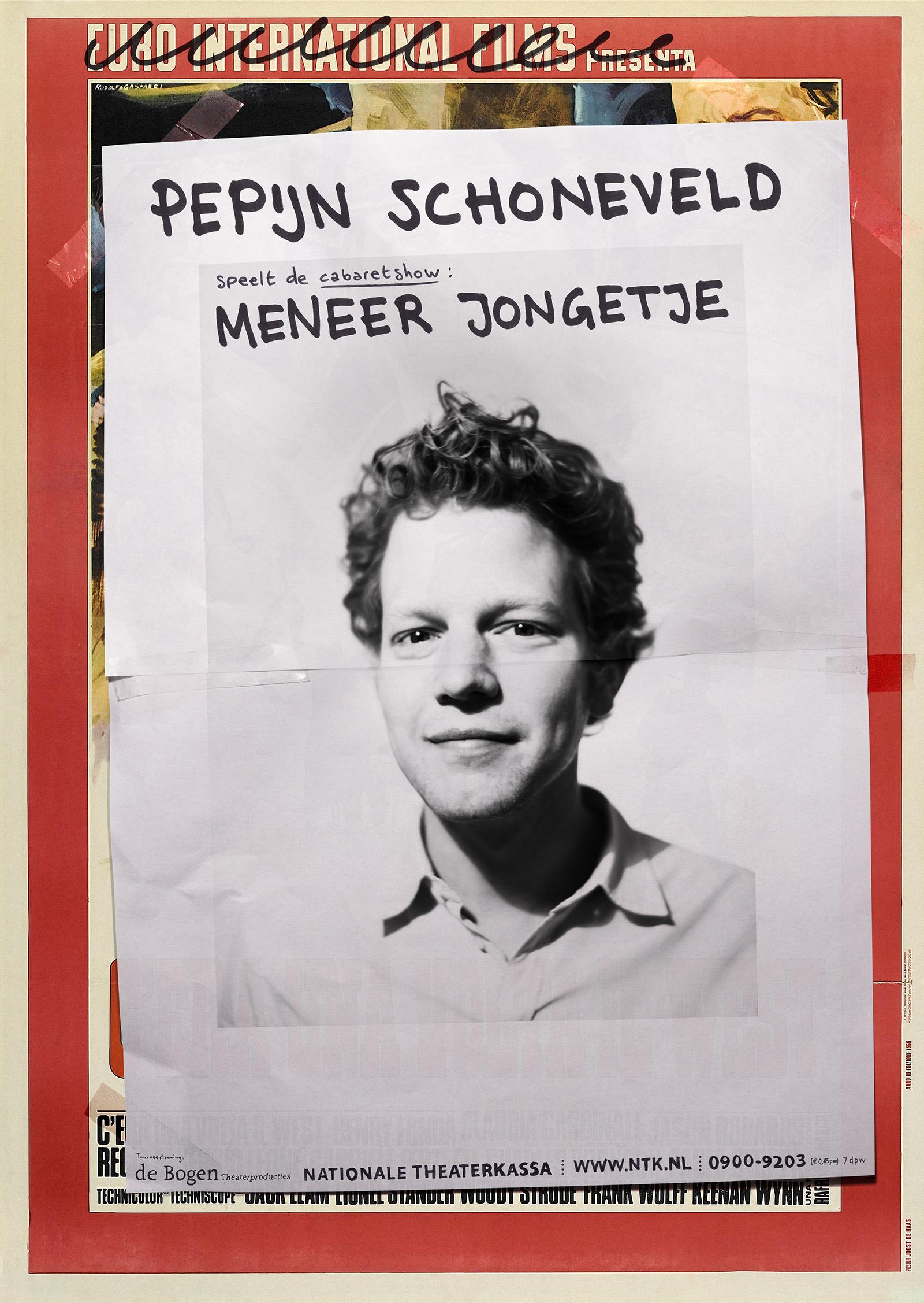 Poster Meneer Jongetje